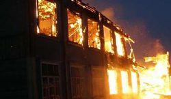 Девятиэтажный дом пылает в Омске – последствия