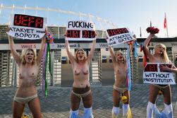 Активисток FEMEN снова задержали