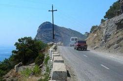 ДТП в Крыму: Автобус с российскими туристами столкнулся с легковым авто