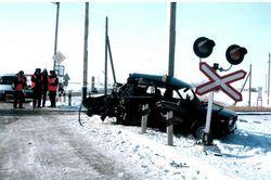 В Новосибирской области на ж/д переезде погиб председатель райсуда