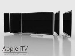 Apple выбирает дизайн телевизора