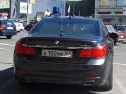 Как авто замминистра МВД протаранило машину москвича?