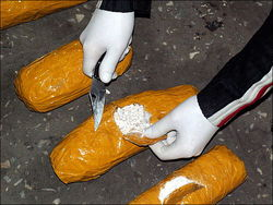 В Кыргызстане изъята крупная партия наркотиков