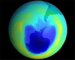 Ученые назвали причины разрушения озона Земли и их последствия
