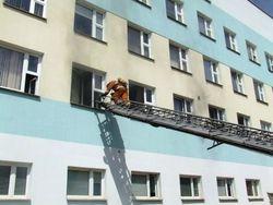 Пожар в школе в Гродно: 555 человек эвакуированы
