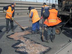 Проспект Победы реконструируют, Киев — сплошная пробка