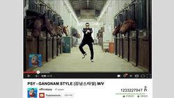 Хит PSY Gangnam Style заработал для YouTube 8 млн долларов