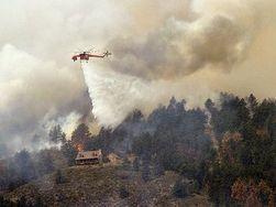 В штате Колорадо эвакуированы 11 тысяч человек из-за пожаров