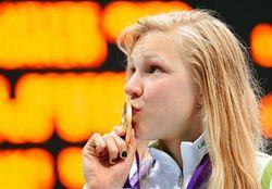 Литовская спортсменка установила новый мировой рекорд на стометровке брассом