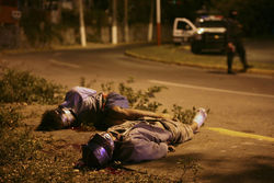 В Мексике нашли 37 трупов у обочины дороги