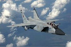 Госдума РФ может возобновить производство легендарного МиГ-31