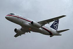 В небе над Одессой у российского Superjet отказал двигатель - пострадавших нет