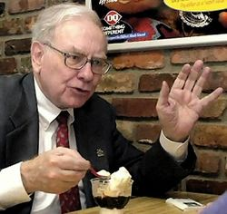 Обед с инвестором Уорреном Баффетом обошелся в 3,5 млн. долларов