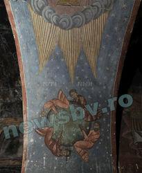 Фреска в церкви XV века в Румынии подтверждает конец света 21 декабря