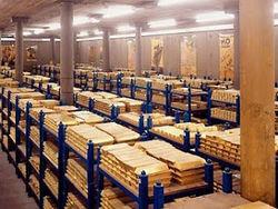 Золотые резервы НБУ будут сокращены до 27,1 млрд. долл. по прогнозам Fitch