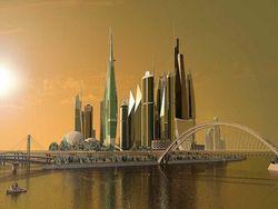 проект строительства в Киеве на Рыбальском полуострове