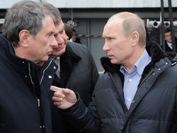 На заводе «Севмаш» Владимир Путин будет обсуждать оснащение ВМФ