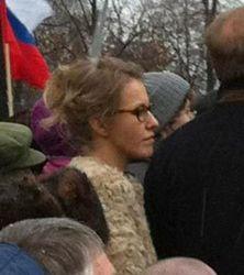 Ксения Собчак идет на выборы. Пока - в Координационный совет оппозиции