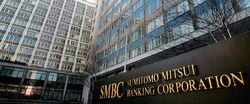 Оценка чистой прибыли Sumitomo Mitsui в 1-ом полугодии повышена