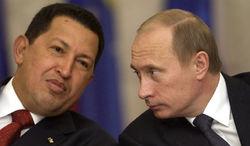 Уго Чавес назвал щенка, подаренного Путиным, просто - Эль Руссо