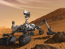 Марсоход Curipsity двигается по руслу древнего ручья – данные приборов