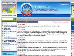 Названы популярные сервисы сайта Налог.ру