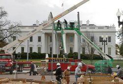Facebook: Вашингтон в осаде силовиков накануне инаугурации Барака Обамы