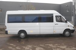 микроавтобус с украинцами задержан