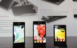 Три новых смартфона линейки Optimus L были представлены LG
