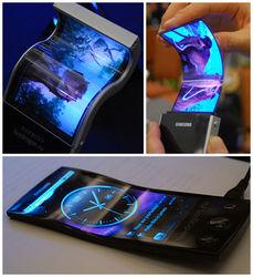 Samsung представил новинку с гибким дисплеем