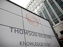 Сокращением сотрудников занялась корпорация Thomson Reuters