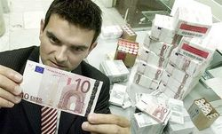 Более 250 тыс. фальшивых банкнот евро изъято из оборота в этом году
