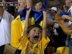 Футбол: дети Шевченко сыграли с Тимурчиком на тренировке сборной Украины