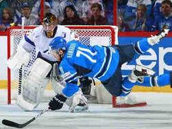 Сборная Финляндии по хоккею разгромила сборную Франции на ЧМ