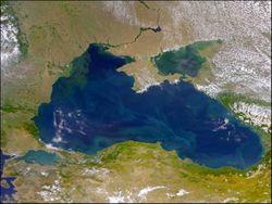 Съемка со спутника подтверждает загрязнение моря у Новороссийска