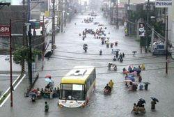 Возросло количество погибших от наводнения на Филиппинах