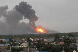 Пожар на армейском полигоне в России наконец-то потушили
