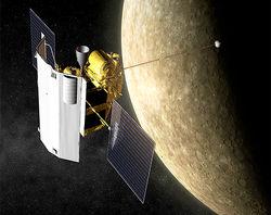 На полюсах Меркурия зонд Messenger обнаружил огромные залежи льда