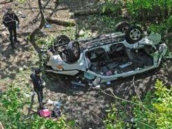 В зоопарк Нью-йоркского района Бронкс с эстакады рухнул минивэн