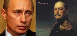 Эксперты назвали 10 схожих черт Николая I и Владимира Путина