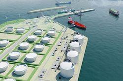 Иностранные банки готовы кредитовать строительство LNG-терминала