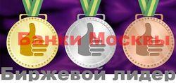 Названы самые популярные банки Москвы в интернете