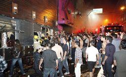 В сгоревшем бразильском клубе использовали дешевую пиротехнику