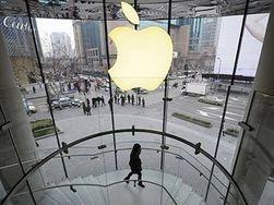Впервые за год стоимость Apple упала ниже 400 млрд. долларов