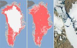 Таяние льдов в Гренландии провоцирует усиление парникового эффекта