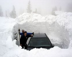 СМИ об угрозах для Украины после мощных снегопадов