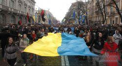 Свободовцы сорвали акцию коммунистов в Яремче, а Симоненко закидали яйцами
