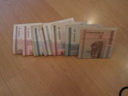 Курс белорусского рубля укрепляется к швейцарскому франку, канадскому доллару и фунту