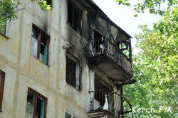 В одной из пятиэтажек в городе Керчь взорвался газ
