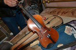 МВД: похищенную скрипку Страдивари нашли у цыган Болгарии